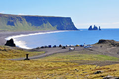 Dyrholaey beach, Iceland Stock Image
