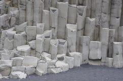Dyrholaey columns - South Coast, Iceland Royalty Free Stock Photo
