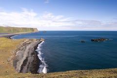 Dyrholaey in IJsland Stock Foto
