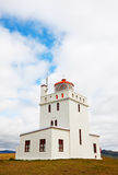 Dyrholaey lighthouse Royalty Free Stock Photo