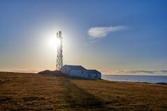 The Dyrholaey lighthouse stock image