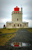 Dyrholaey lighthouse, Iceland Stock Photos