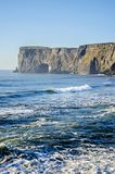 Dyrholaey natural arch south coast Iceland Royalty Free Stock Photo