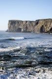 Dyrholaey naturalny łękowaty Iceland Obrazy Royalty Free