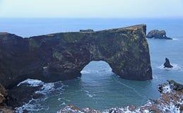 Dyrholaey peninsula Stock Photo