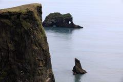 Iceland. Dyrholaey promontory view, Vik, Iceland, Europe stock photos