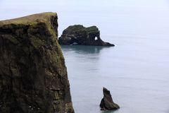 Iceland. Dyrholaey promontory view, Vik, Iceland, Europe royalty free stock photos