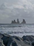 Dyrholaey, vik, Islande Photographie stock