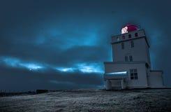 Dyrholahey Lighthouse in Southern Iceland Royalty Free Stock Photos