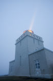 Dyrholahey Lighthouse in Southern Iceland Royalty Free Stock Images