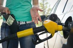 dyrt bränsle royaltyfri bild