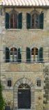 Dyrt hem i Cortona, Italien Arkivfoto