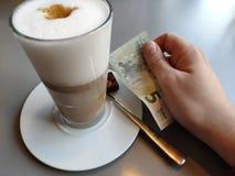 Dyrt kaffe arkivfoton