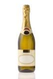 dyrt oöppnat för champagne Royaltyfria Foton