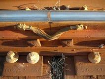 Dyrygenta poręcza patka zdjęcie royalty free