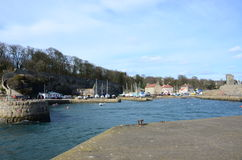 Dysart Harbour Royalty Free Stock Photos