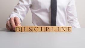Dyscyplina w biznesie i edukacji fotografia stock