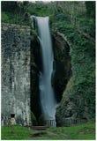 Dyserth vattenfall royaltyfri foto