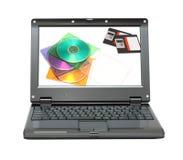 dysków dyskietek laptop mały Obrazy Stock