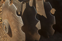 Dysk brona przy Kalifornia wytwórnią win Obraz Royalty Free