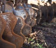 Dysk brony z bliska Obrazy Royalty Free