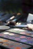 Dysk makijaż Obrazy Stock