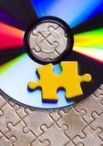 dysk puzzle zdjęcie royalty free