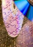 dysk puzzle zdjęcia royalty free