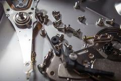 Dysk twardy złomowe elektronika zdjęcia stock
