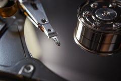 Dysk twardy złomowe elektronika obrazy royalty free