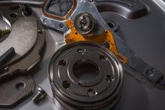 Dysk twardy złomowe elektronika zdjęcie stock