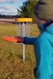 Dyska golf Zdjęcia Stock