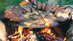 Dyska grill zbiory wideo