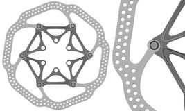 Dyska hamulca rotor obrazy stock