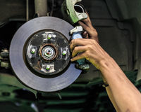Dyska hamulec samochód Zdjęcie Royalty Free