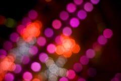 dyskotek światła fotografia royalty free