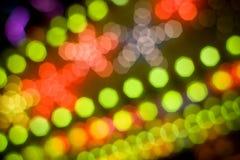dyskotek światła zdjęcia stock