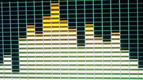 Dyskotek światła w slowmotion Pojęcie o rozrywce i przyjęciu 1920x1080 ilustracja wektor