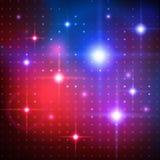 Dyskotek światła Wektorowy tło Zdjęcie Royalty Free