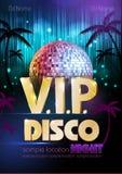 Dyskoteka plakat format disco dodatkowego tło Fotografia Royalty Free