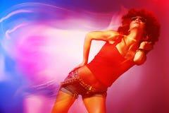 Dyskoteka tancerz Fotografia Stock