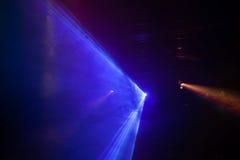 Dyskoteki światła przedstawienie, scen światła Zdjęcia Royalty Free