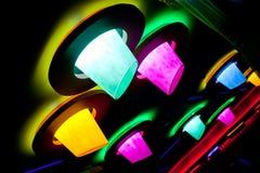dyskoteki abstrakcjonistyczna świetlicowa iluminacja Zdjęcia Stock