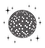 Dyskoteki balowa wektorowa ikona Fotografia Stock