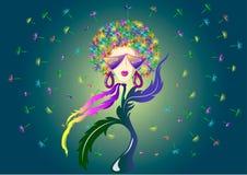 Dyskoteki dandelion Zdjęcie Royalty Free