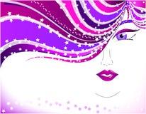 dyskoteki kobieta Fotografia Royalty Free