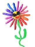 dyskoteki kwiatu plastelina Obraz Royalty Free