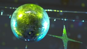 Dyskoteki lustrzana piłka zbiory