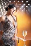 dyskoteki wino Fotografia Stock