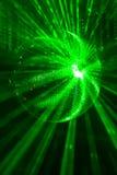 Dyskoteki zielona piłka zdjęcia royalty free